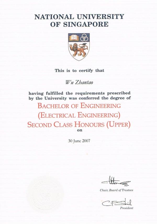 Bachelor of Engineering of H2 Maths Tutor, JC Maths Tutor, A Level Maths Tutor